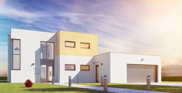 Modern houses: The whole spectrum at a glance